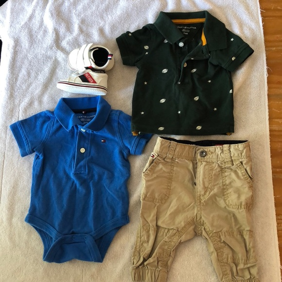 Tommy Hilfiger Other - Gently used baby boy clothes and shoes